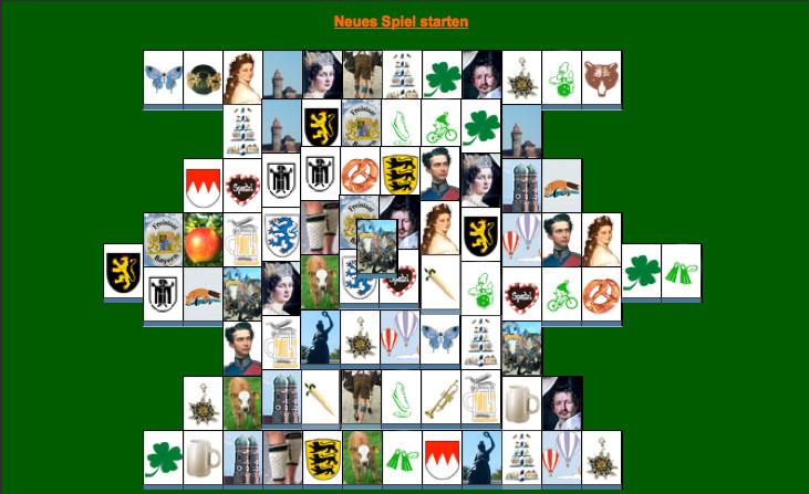 Bayerisches Mahjongspiel