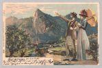 © Haus der Bayerischen Geschichte <br /><br />Seit dem Pestgelübde von 1634 spielen die Oberammergauer die Passion. Kamen die Zuschauer in der Anfangszeit noch meist aus der nahen Umgebung, entwickelten sich die Passionsspiele bald zu einem Anziehungspunkt für Besucher aus aller Welt. Bereits 1850 wurde Oberammergau zur Passionsspielzeit von 100.000enden besucht und so zu einem der frühesten touristischen Anziehungspunkte in Bayern.